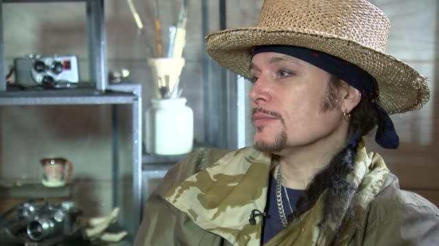 Adam Ant interview Adam Ant interview SOT