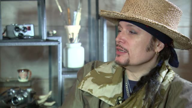 Adam Ant interview ENGLAND London INT Adam Ant interview SOT