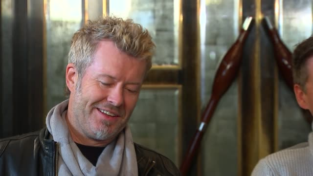 aha release new album magne furuholmen interview sot on reforming - アルバムのタイトル点の映像素材/bロール