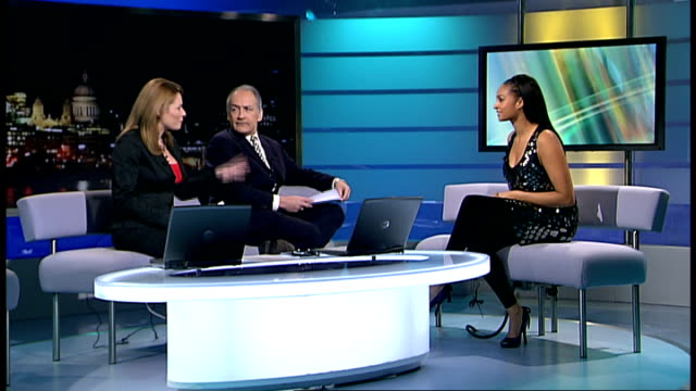 alesha dixon interview on her new album england london gir int alesha dixon live studio interview sot talks of her new album - アルバムのタイトル点の映像素材/bロール