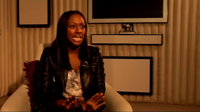 alexandra burke interview alexandra burke interview sot more on simon cowell her mum fancies him what you see if what you get with simon / on cheryl... - boy band stock videos & royalty-free footage