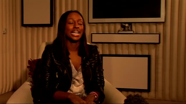 alexandra burke interview; england: london: int alexandra burke interview sot - on what is different about the deluxe edition of her album 'overcome'... - the x factor stock videos & royalty-free footage