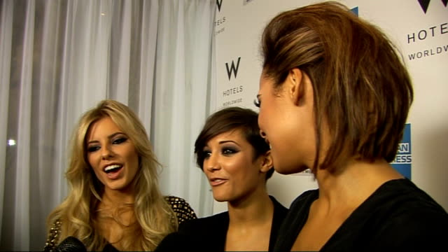 vídeos de stock, filmes e b-roll de alicia keys 'the element of freedom' album launch celebrity interviews members of girl band the saturdays interviewed sot who should get nominated... - título de álbum