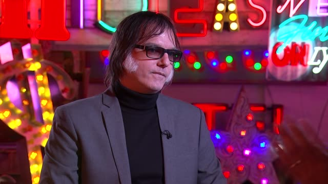Anton Newcombe interview Anton Newcombe interview SOT on post punk inspired me Reporter listening 2 SHOTS of Newcombe and reporter Anton Newcombe SOT...