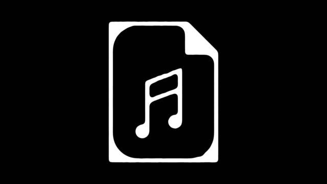 vidéos et rushes de animation en ligne musique archive blackboard avec alpha - salle des archives