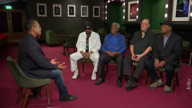 stockvideo's en b-roll-footage met artists from the stax record label perform 50 years after iconic tour willie bell interview sot - popmuziek tournee