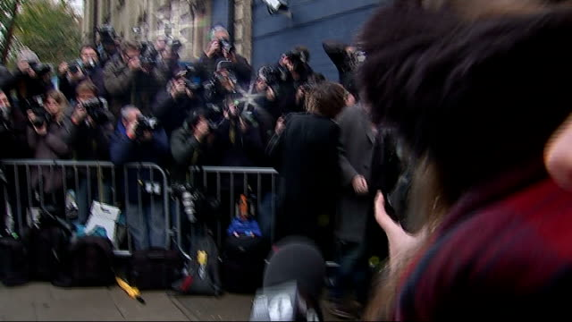 Band Aid remake Do They Know it's Christmas in aid of Ebola victims ENGLAND West London Bayswater PHOTOGRAPHY*** Harry Styles arriving at recording...