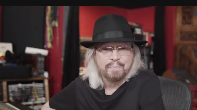 barry gibb interview; usa: int barry gibb interview via internet sot. - on his new album 'greenfields' where he performs songs written by the bee... - the bee gees bildbanksvideor och videomaterial från bakom kulisserna