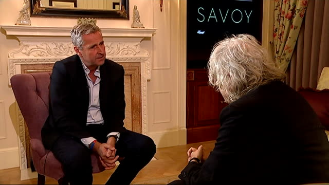 bob geldof interview bob geldof interview sot i didn't read that particular article but i know from where it comes it comes from being told... - article stock videos and b-roll footage