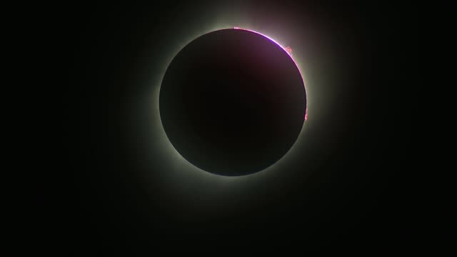 Bonnie Tyler tops download charts following total solar eclipse LIB / TX Wyoming Natrona County Casper Total solar eclipse with purple ring around...