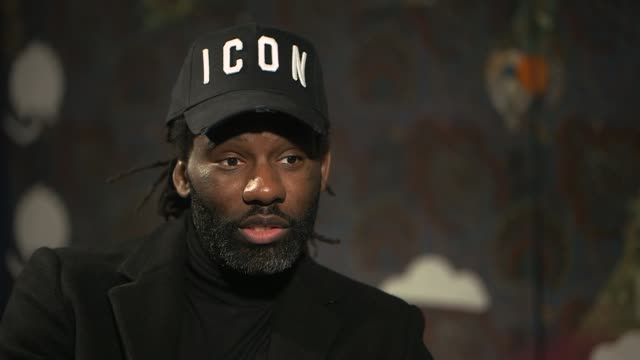 wretch 32 interview england int wretch 32 interview sot - jackie long stock videos & royalty-free footage