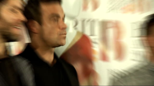 vidéos et rushes de brit awards 2011 winner interviews take that press conference sot on it being great to be back together and winning at the brits / joke that winning... - take that