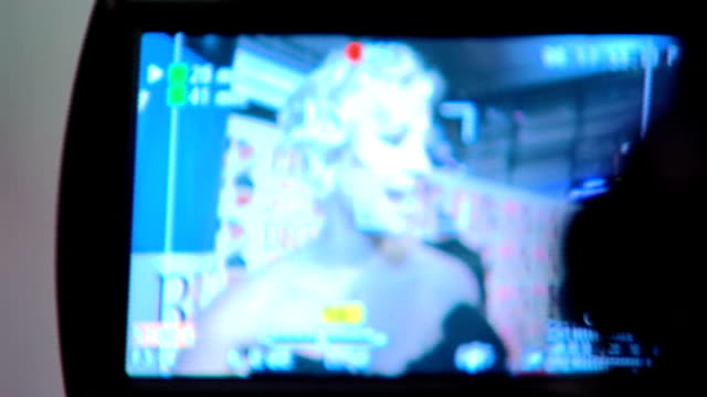 brit awards 2012 adele wins album of the year england london int dave rowntree and alex james of blur on red carpet pixie lott on screen of camera... - fearne cotton stock videos & royalty-free footage