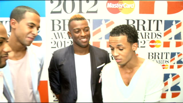 Brit Awards 2012 nominations announced celebrity interviews JLS interview SOT On being nominated for Best Single / competition with One Direction and...