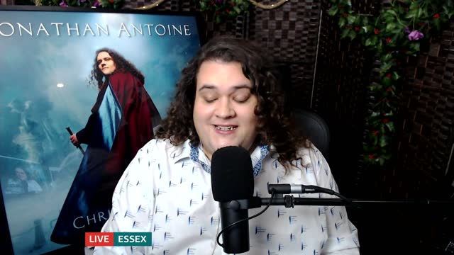 britain's got talent 2012 finalist jonathan antoine releases new album; england: london: gir: int jonathan antoine live interview via internet sot,... - news not politics stock videos & royalty-free footage