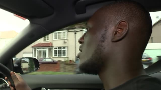 british rapper stormzy stormzy interview con tinues sot - stormzy stock videos and b-roll footage