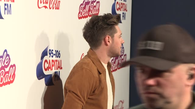 Capital FM Jingle Bell Ball 2017 red carpet interviews GVs Rita Ora on the red carpet Niall Horan on red carpet and interview SOT