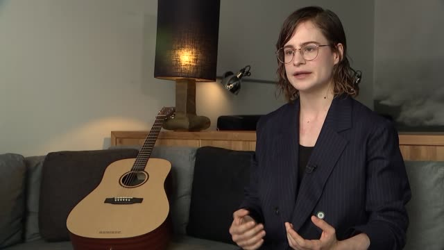 christine and the queens interview england london int christine and the queens interview sot - christine last stock-videos und b-roll-filmmaterial