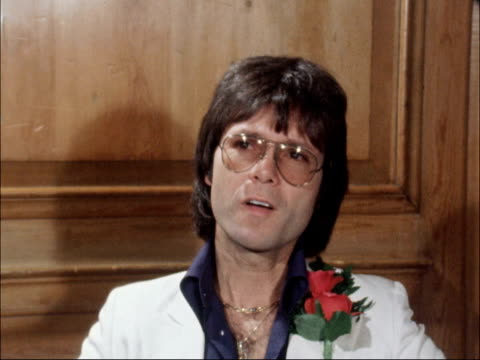 cliff richard interviewed england int cliff richard interview sof no i think if i was honest i would say i'm sure the shadows felt the same at the... - cliff richard stock videos and b-roll footage