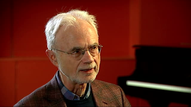 composer john adams interview; adams interview sot - i'm a puzzled sceptic when it comes to religion, but when i think of the subject involved in... - resurrection religion stock videos & royalty-free footage