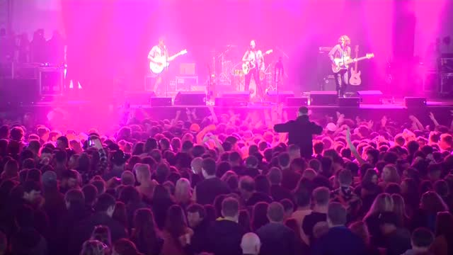 thousands attend concert pilot event at sefton park; **please note: musical performances may be subject to copyright and therefore require clearance... - intellectual property stock videos & royalty-free footage