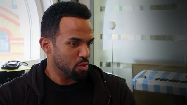 craig david releases new album craig david interview sot - アルバムのタイトル点の映像素材/bロール