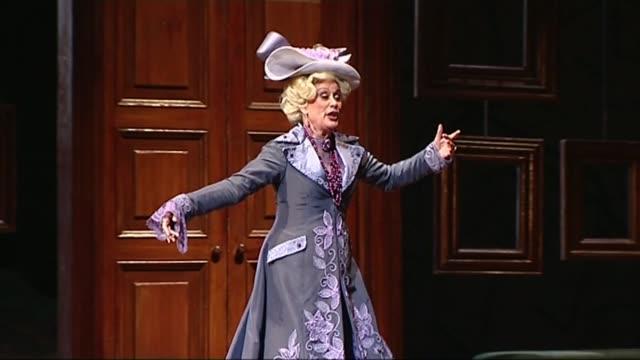 dame kiri te kanawa will no longer perform live t04031433 / 432014 the royal opera house dame kiri te kanawa rehearsing for her final role in opera... - opera stock videos & royalty-free footage