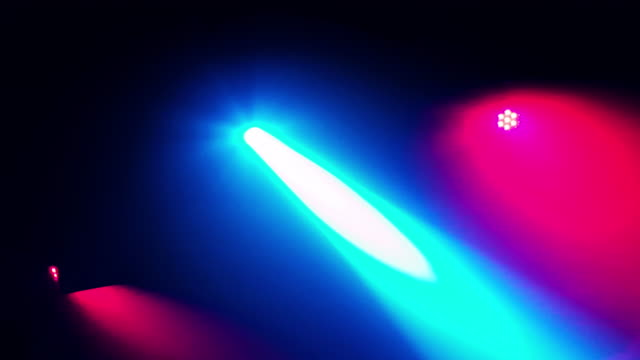music dancing disco light at night in the dj club - strobe light stock videos & royalty-free footage