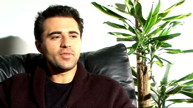 darius campbell interview england london int darius campbell interview sot on being in the final of the itv1 show 'popstar to operastar' / the other... - finalist stock videos & royalty-free footage