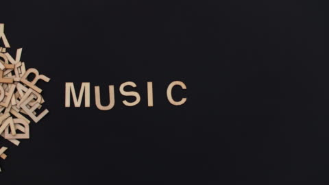 music/ debica/ poland - alphabet stock videos & royalty-free footage