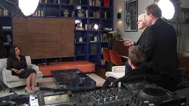 duran duran interview; england: int simon le bon, nick rhodes and roger taylor interview sot. - duran duran stock videos & royalty-free footage