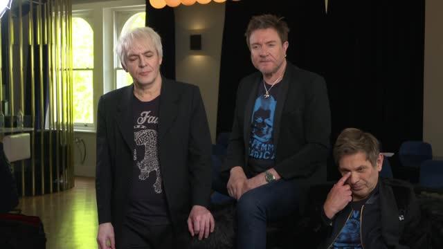 duran duran interview; england: london: int duran duran interview sot - duran duran stock videos & royalty-free footage