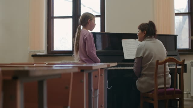 music education - piano stock videos & royalty-free footage