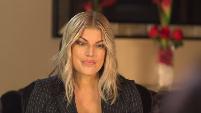 fergie interview england london int fergie interview sot - fergie duhamel stock videos and b-roll footage