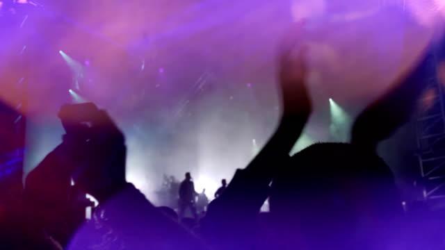 music festival - psychedelische musik stock-videos und b-roll-filmmaterial