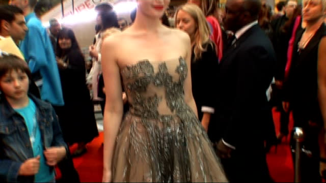aspiring singer's work experience blog to be made into film lib ext gemma arterton posing on red carpet at 'prince of persia' film premiere - tulle stock videos and b-roll footage