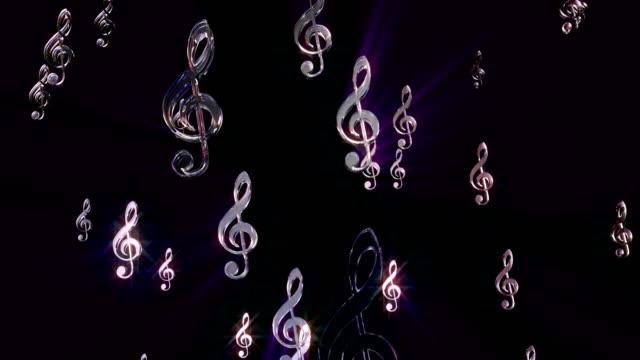 4k music g keys loop alpha channel - mtv video music awards stock videos and b-roll footage