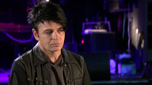 gary numan interview gary numan interview sot re trump election climate change cutaways reporter - gary numan stock videos & royalty-free footage