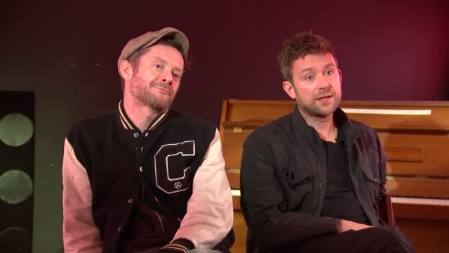 Gorillaz interview Damon Albarn and Jamie Hewlett Damon Albarn and Jamie Hewlett interview continued SOT