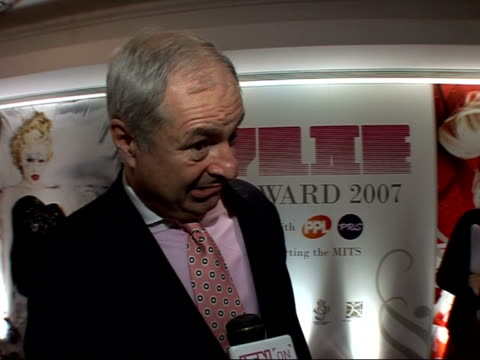 kylie and dannii minogue photocalls and interviews paul gambaccini interview sot explains the award and how it raises money for charity for the brit... - music therapy stock videos & royalty-free footage
