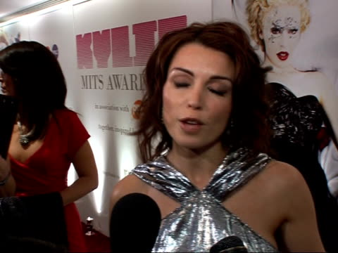 music industry trust awards: kylie and dannii minogue photocalls and interviews; dannii minogue speaking to reporters and interview sot - on how... - the x factor stock videos & royalty-free footage
