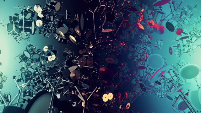 music instruments drum - conductor stock videos and b-roll footage