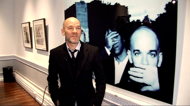 interview with rem singer michael stipe ahead of new album release michael stipe interview sot the record has its share of political songs but it's... - michael stipe stock videos & royalty-free footage