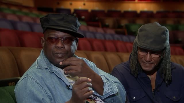 interview with sly dunbar and robbie shakespeare; q: is the spirituality a big part of reggae and where you come from? robbie shakespeare sot - - a... - レゲエ点の映像素材/bロール