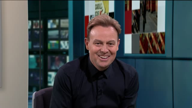 jason donovan announces new tour england london gir int jason donovan live studio interview sot - popular music tour stock videos and b-roll footage