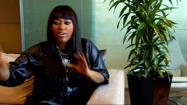 jazmine sullivan interview jazmine sullivan interview sot on the album 'fearless' how it takes in many different genres on why she has such a varied... - soul music stock videos & royalty-free footage
