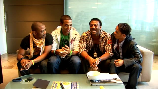 JLS interview Oritse Williams Aston Merrygold Jonathan 'JB' Gill and Marvin Humes interview SOT On being one of the most fancied bands on Bebo and...