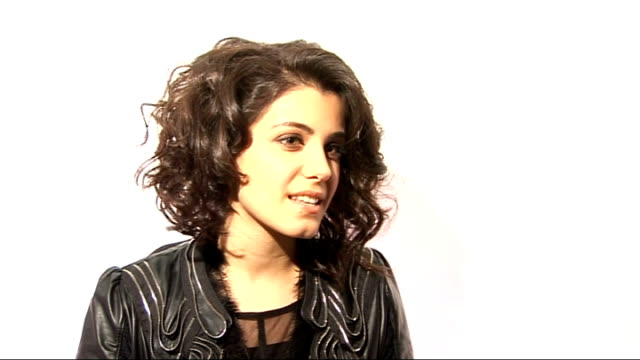 katie melua interview katie melua interview sot on the bestival fancy dress theme of fantasy / would like to dress up as the blue opera singer in the... - music style stock videos and b-roll footage
