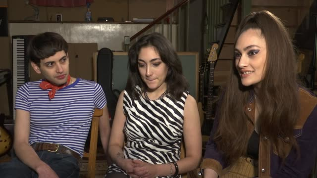 kitty daisy and lewis interview ***music kitty durham interview sot **durham interview overlaid sot** close shot music equipment daisy durham... - image manipulation stock videos and b-roll footage