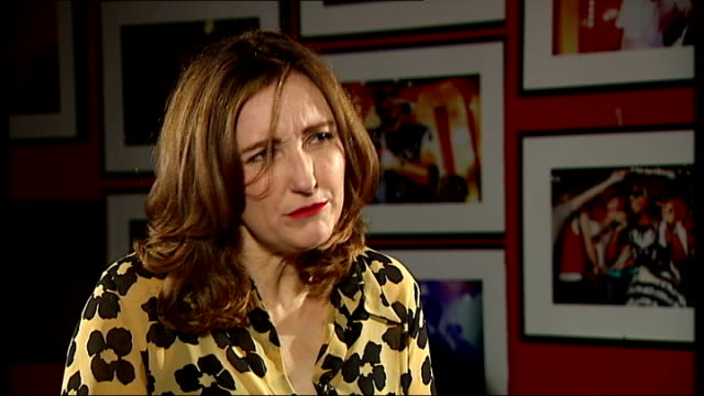 viv albertine of 'the slits' launches autobiography; albertine interview continues sot - talks of the resentment of her mother's generation of women... - biographie stock-videos und b-roll-filmmaterial